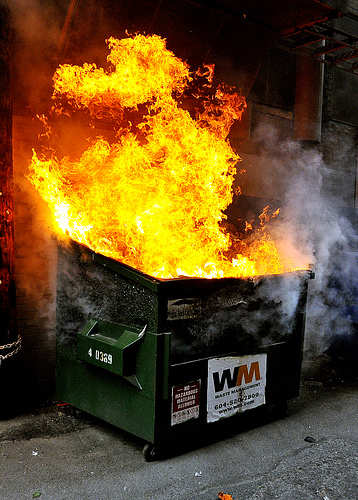 3 Tips Thursday – Staying Sane in a Dumpster Fire